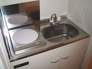 キッチン お部屋にはミニキッチンをご用意しました。お部屋で調理を楽しんでいただけます。