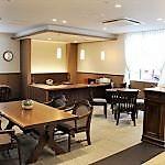 喫茶スペースはお客様同士だけではなく、ご家族様のご利用も可能です。
