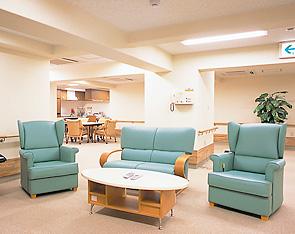 介護居室はユニットケア方式を採用。