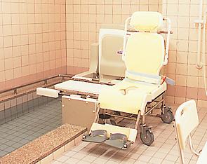 介護度に合わせた入浴方法をご用意。