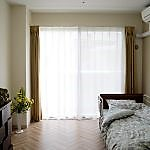 開放感あふれる住環境が、自由で快適な生活を後押しいたします。全室個室でプライベートに配慮しました。