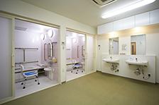 浴室。機械浴もご用意しております。