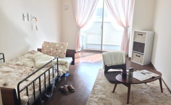広々とした居室となっており、プライバシーを守れ、お一人の時間も楽しめます。