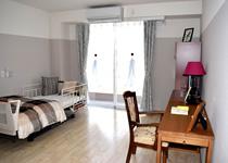 居室は全室個室となっております。